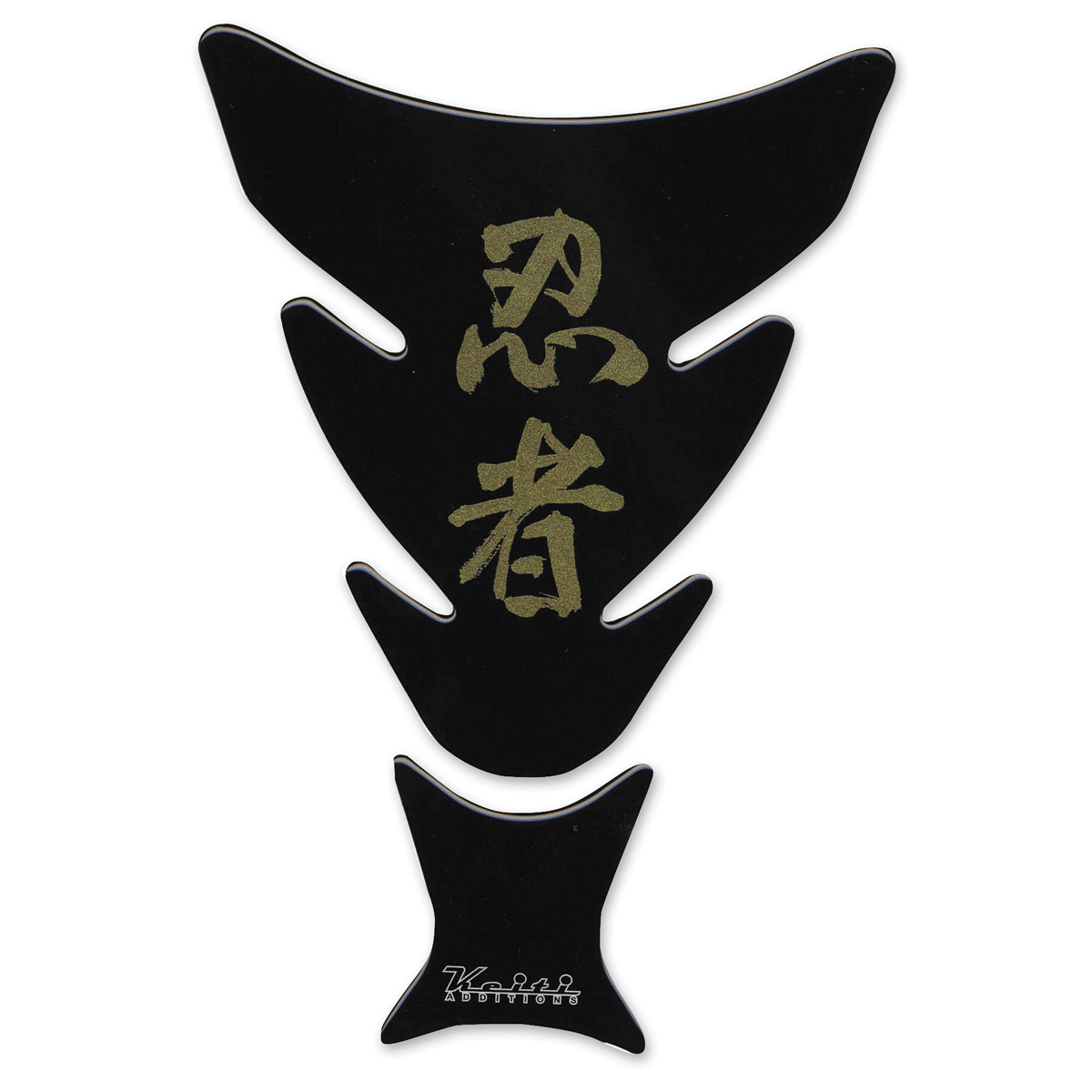 Keiti Ninja Kanji Black Tank Pad