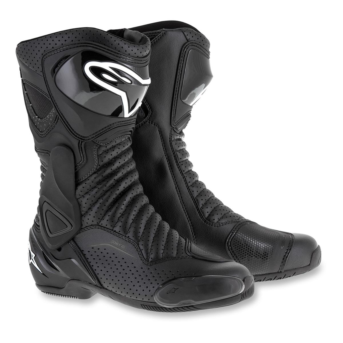 Alpinestars Men's SMX-6 v2 Vented Black Boots