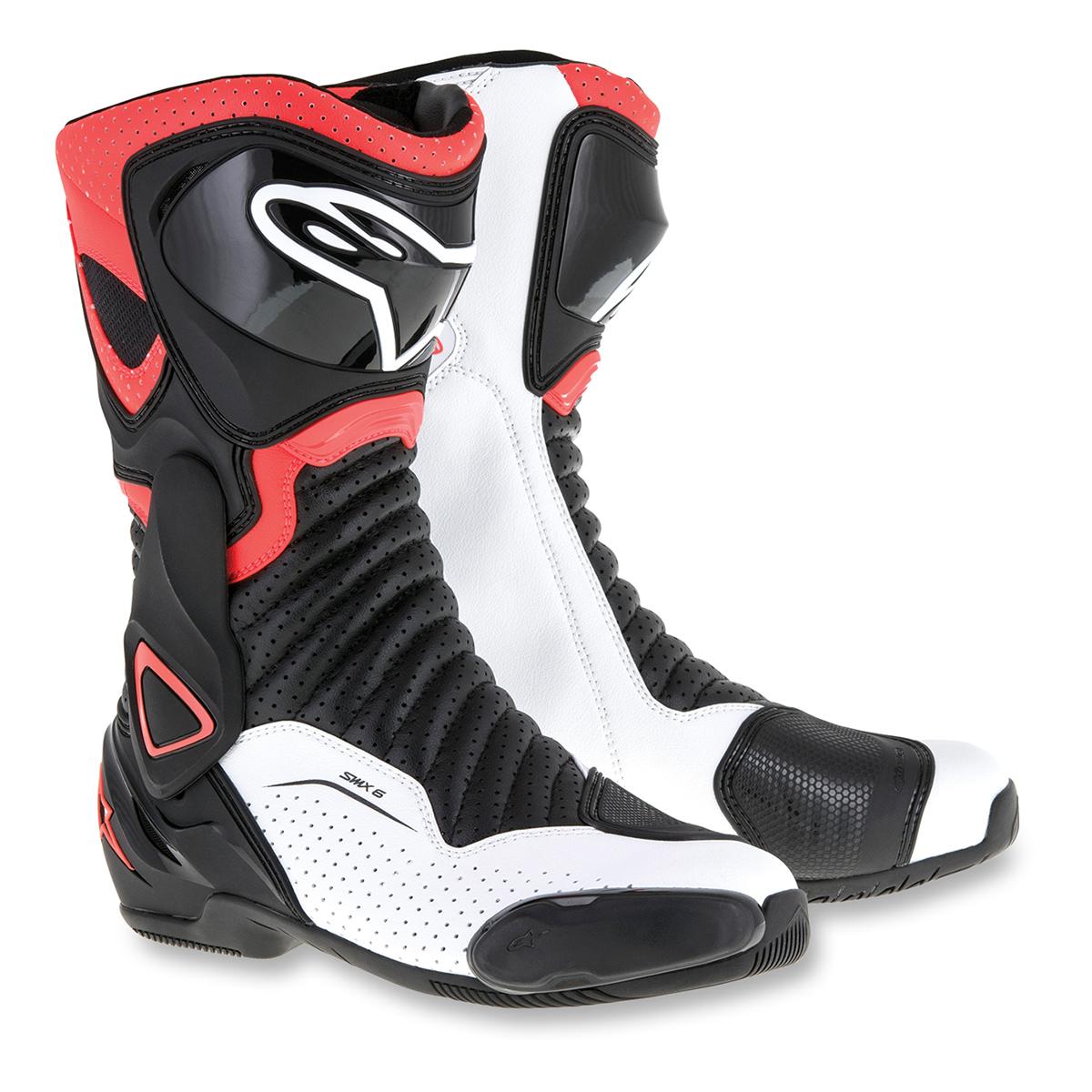 Alpinestars Men's SMX-6 v2 Vented Black/Red Boots