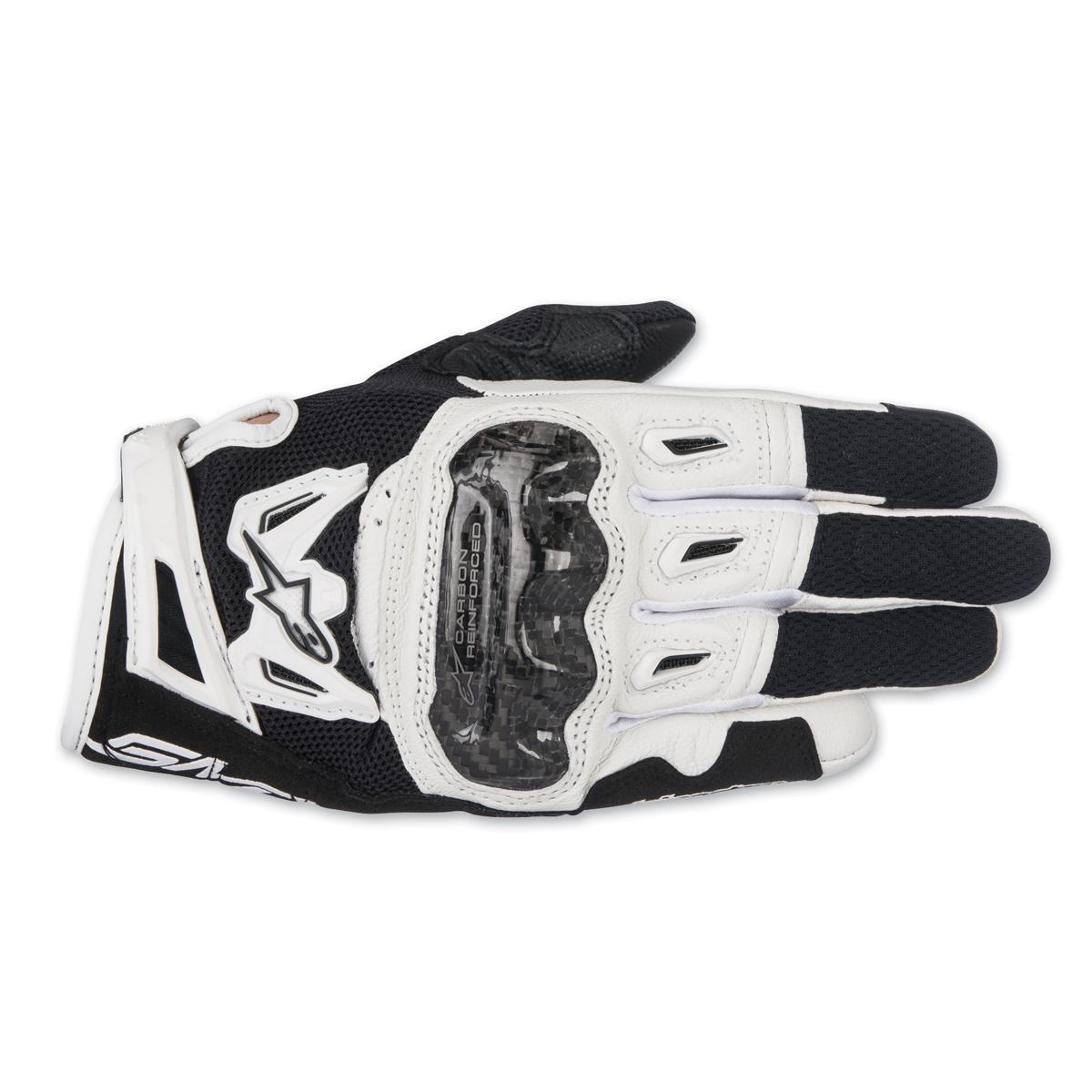 Alpinestars Women's Stella SMX-2 v2 Air Carbon Black/White Gloves