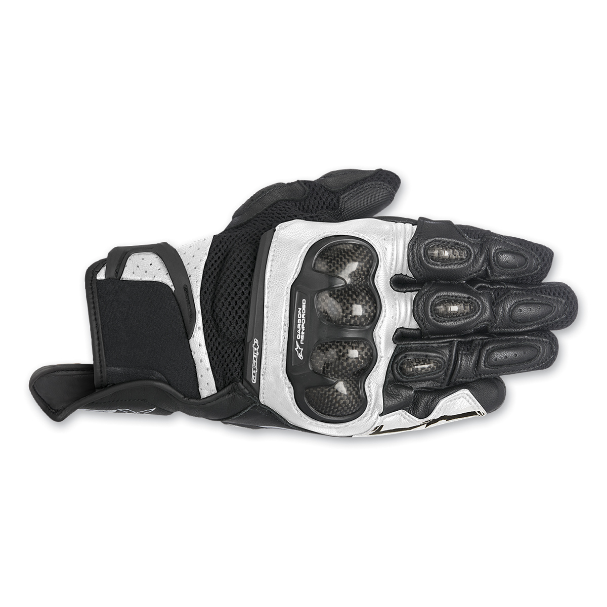 Alpinestars Men's SPX Air Carbon Black/White Glove