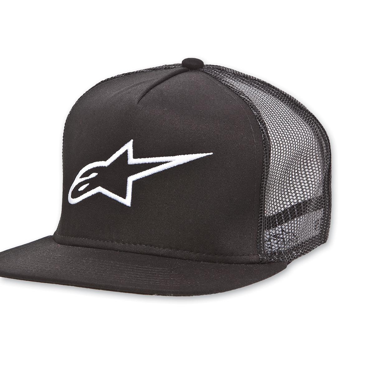Alpinestars Corp Trucker Black Hat