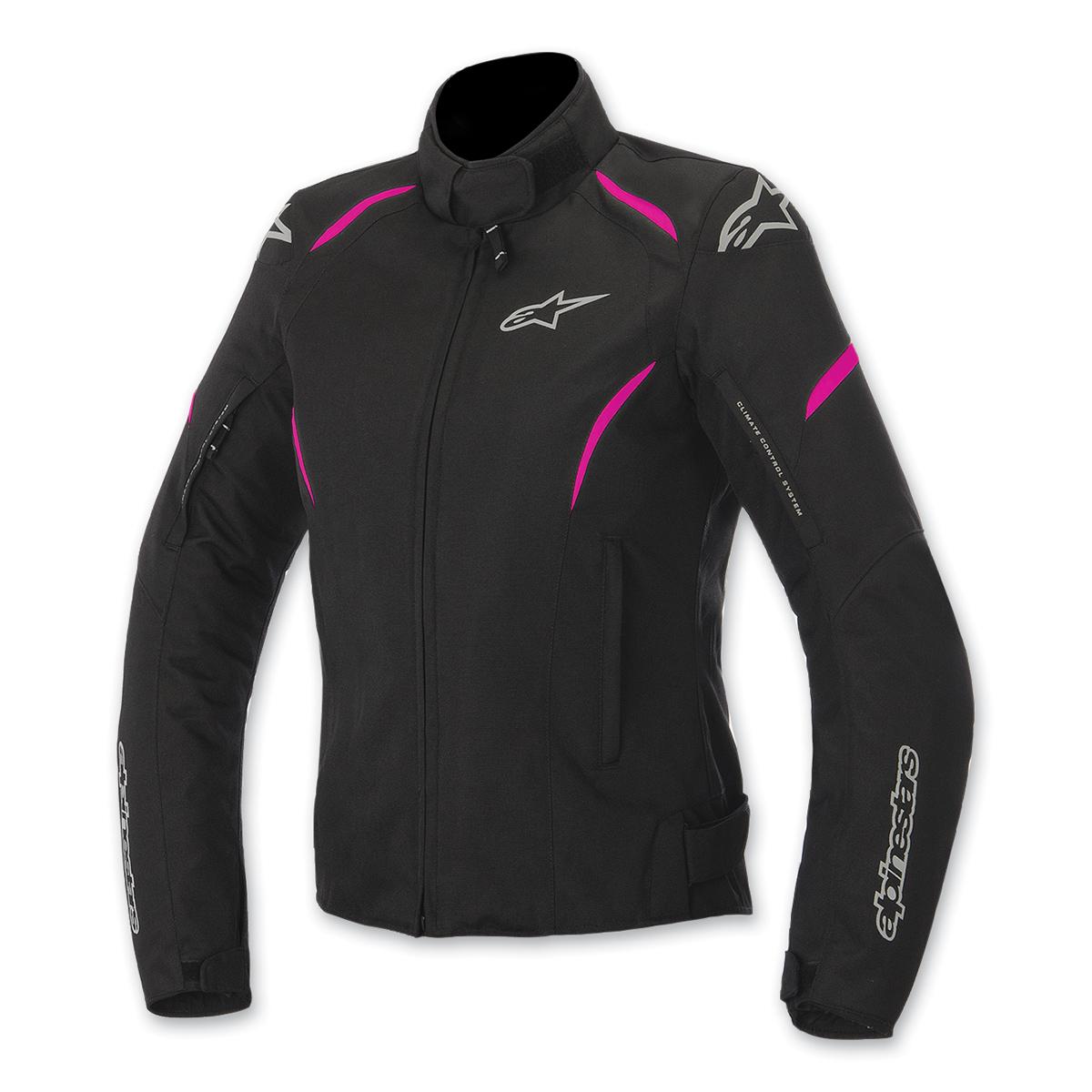 Alpinestars Women's Stella Gunner Waterproof Black/Fuchsia Jacket