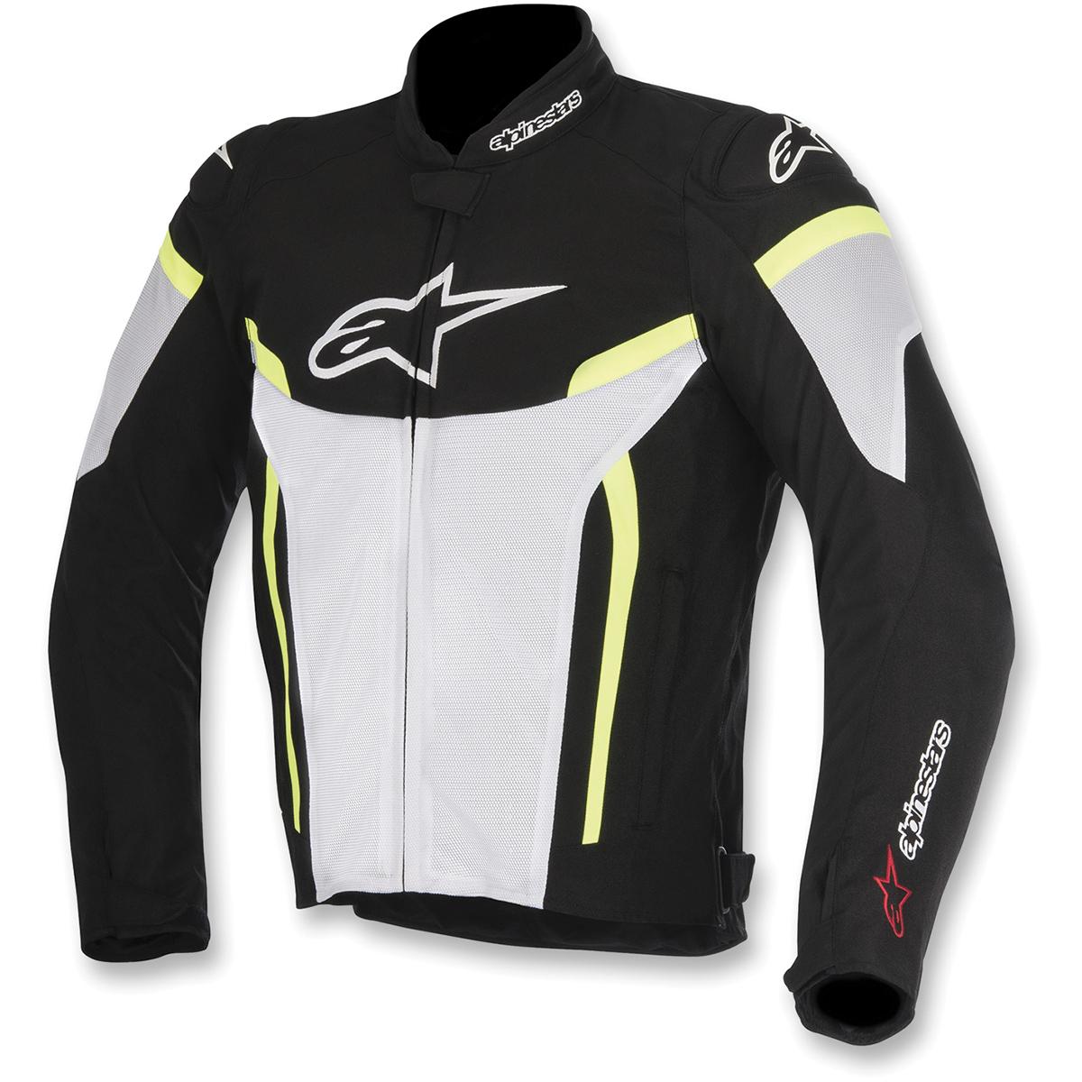Alpinestars Men's T-GP Plus R v2 Air Black/White/Hi-Viz Jacket