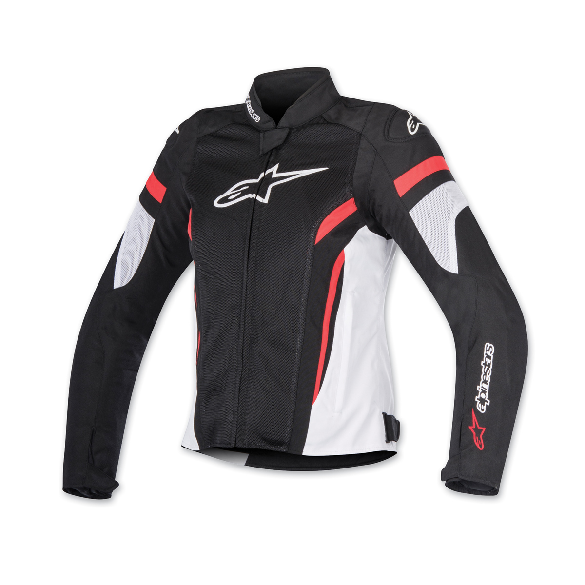 Alpinestars Women's Stella T-GP Plus R v2 Air Black/Red Jacket