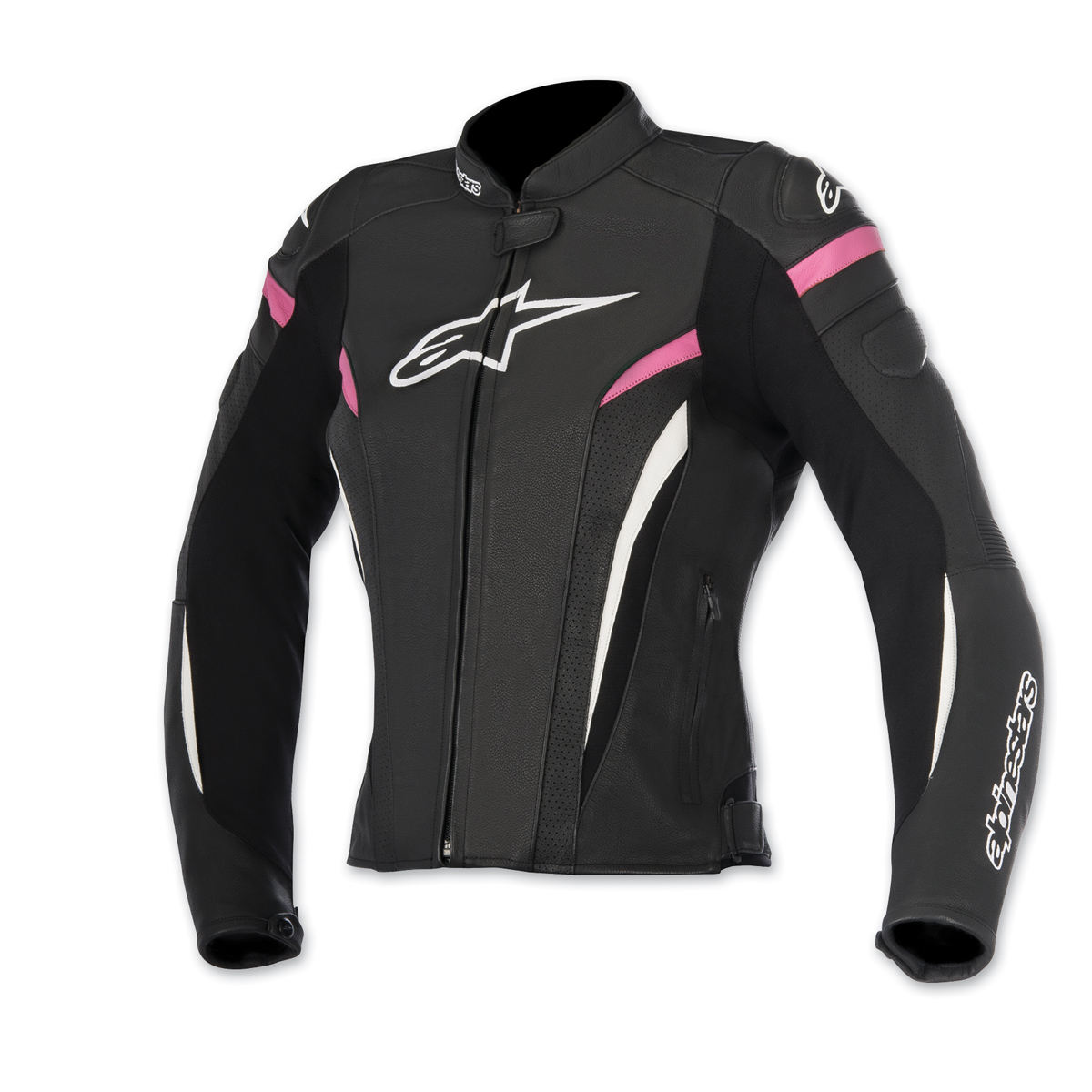 Alpinestars Women's Stella GP Plus R v2 Airflow Black/Fushia Jacket