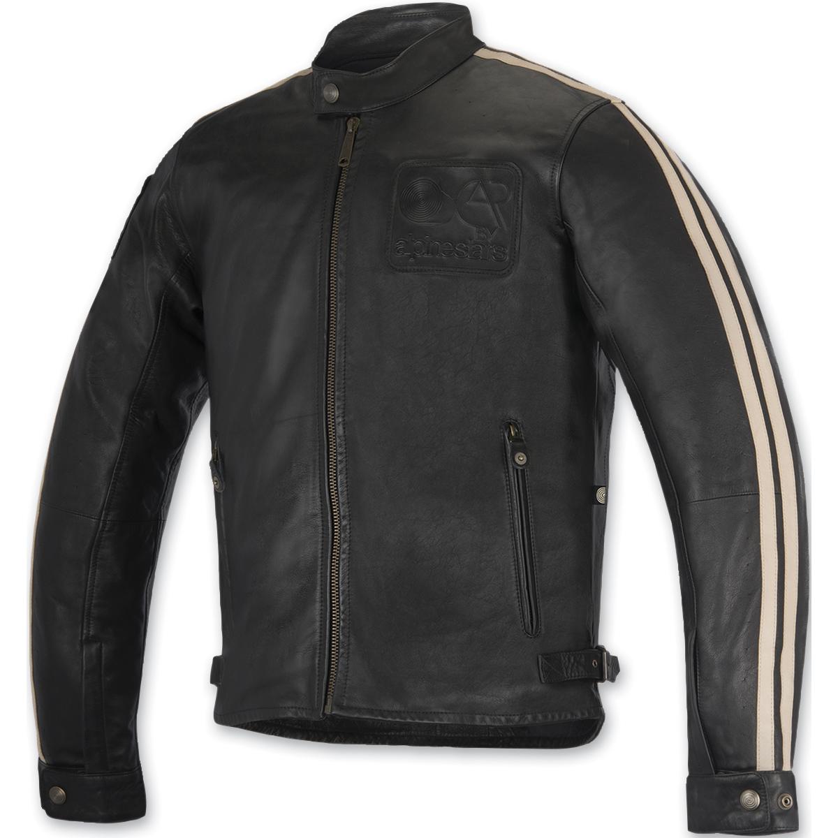 Alpinestars Oscar Men's Charlie Black Leather Jacket