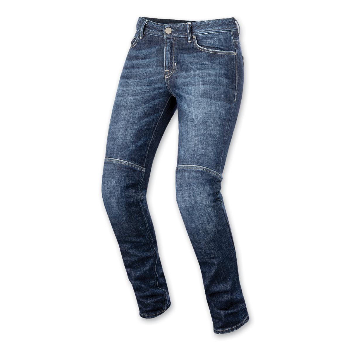 Alpinestars Women's Daisy Dark Rinse Denim Jeans