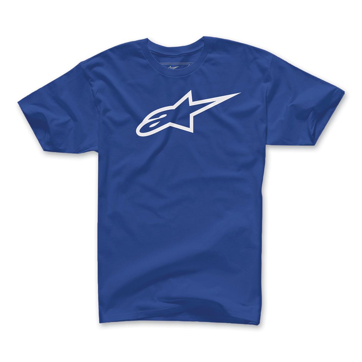 Alpinestars Men's Ageless Blue/White T-Shirt