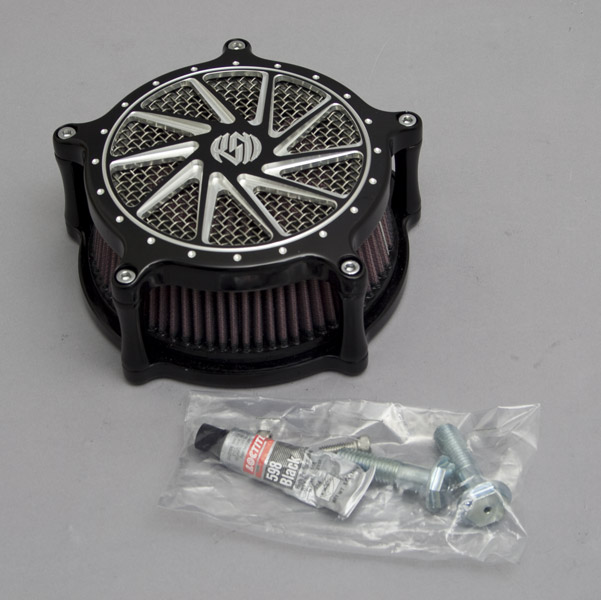 Roland Sands Design Ronin Contrast Cut Venturi Air Cleaner