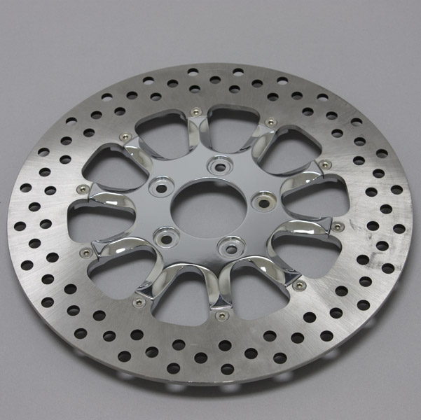 Performance Machine Hooligan Chrome Two-Piece 11.8″ Front Brake Rotor