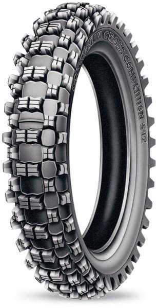 Michelin S12 XC 120/90-18 Rear Tire