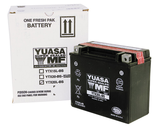YUASA YTZ Maintenance Free Battery