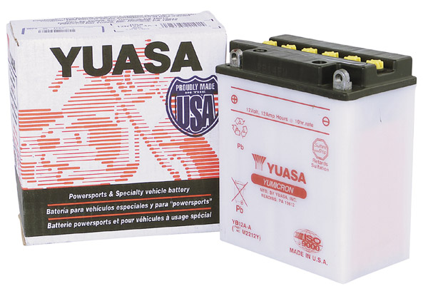 Yuasa Conventional 6v Battery