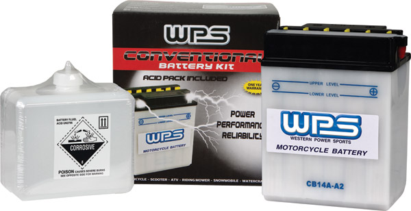 WPS Conventional 12V Heavy Duty Battery Kit w/ Sensor