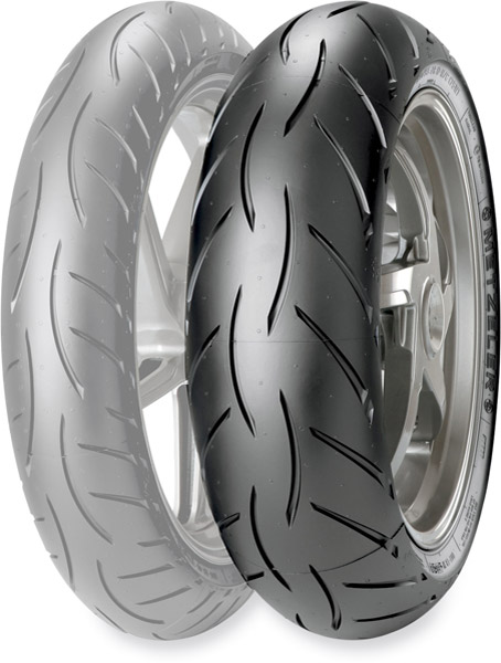Metzeler Sportec M5 Interact 190/50ZR17 Rear Tire