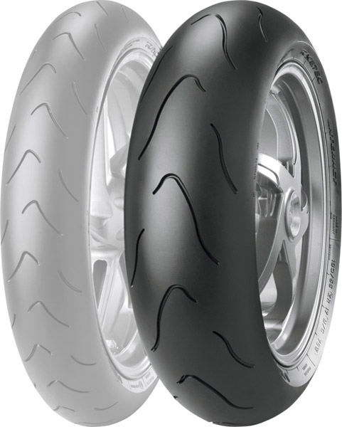 Metzeler Racetec Interact K1 180/55ZR17 Rear Tire