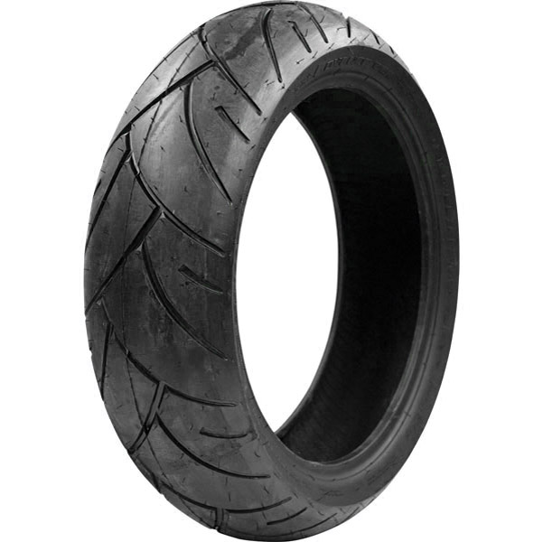 Shinko Red Smoke Bomb 180/55ZR17 Rear Tire