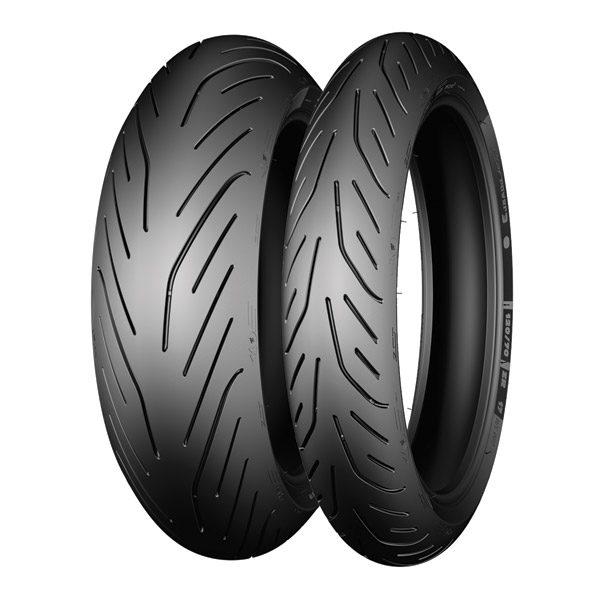 michelin pilot power 3 120 70zr17 front tire za14560 j p cycles. Black Bedroom Furniture Sets. Home Design Ideas