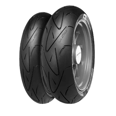 "Continental Sport Attack ""Hypersport"" 120/70ZR-17 Front Tire"