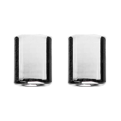 Vortex Chrome Bar-End Sliders