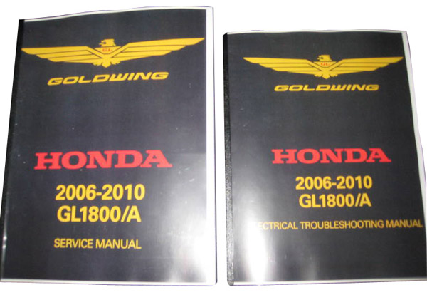 2006-10 GL1500 Gold Wing Service Manual