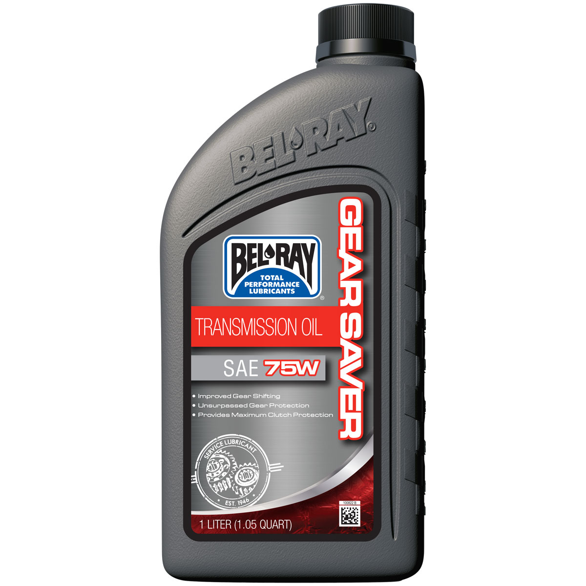 Bel-Ray 75W Gear Saver Transmission/Hypoid Oil Liter