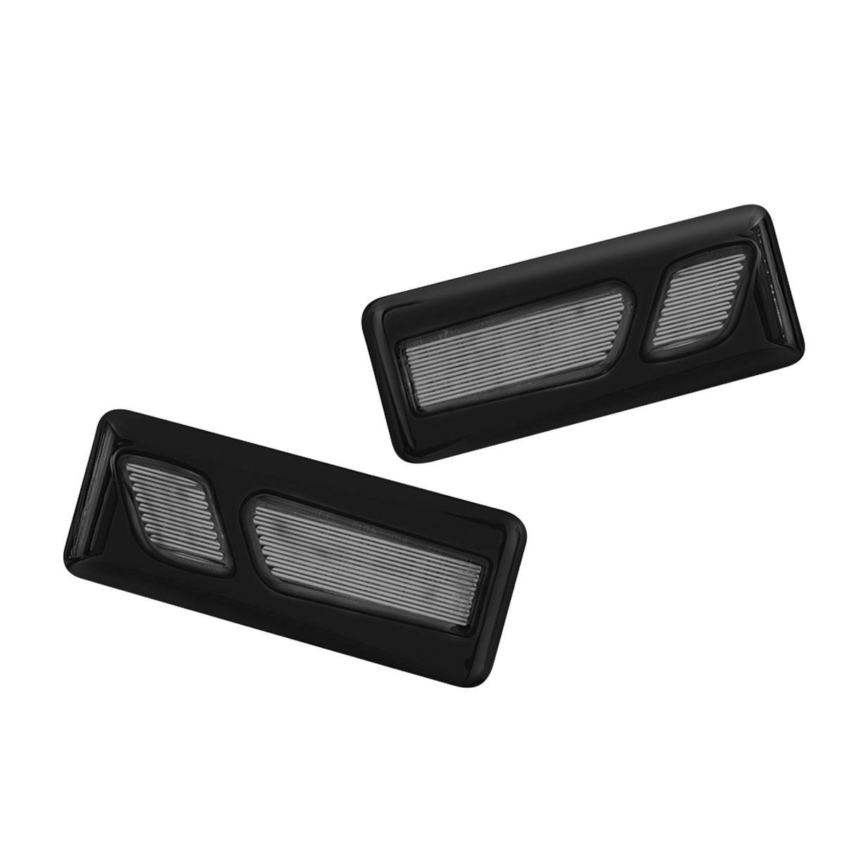 Kuryakyn Gloss Black LED Front Reflector Conversion