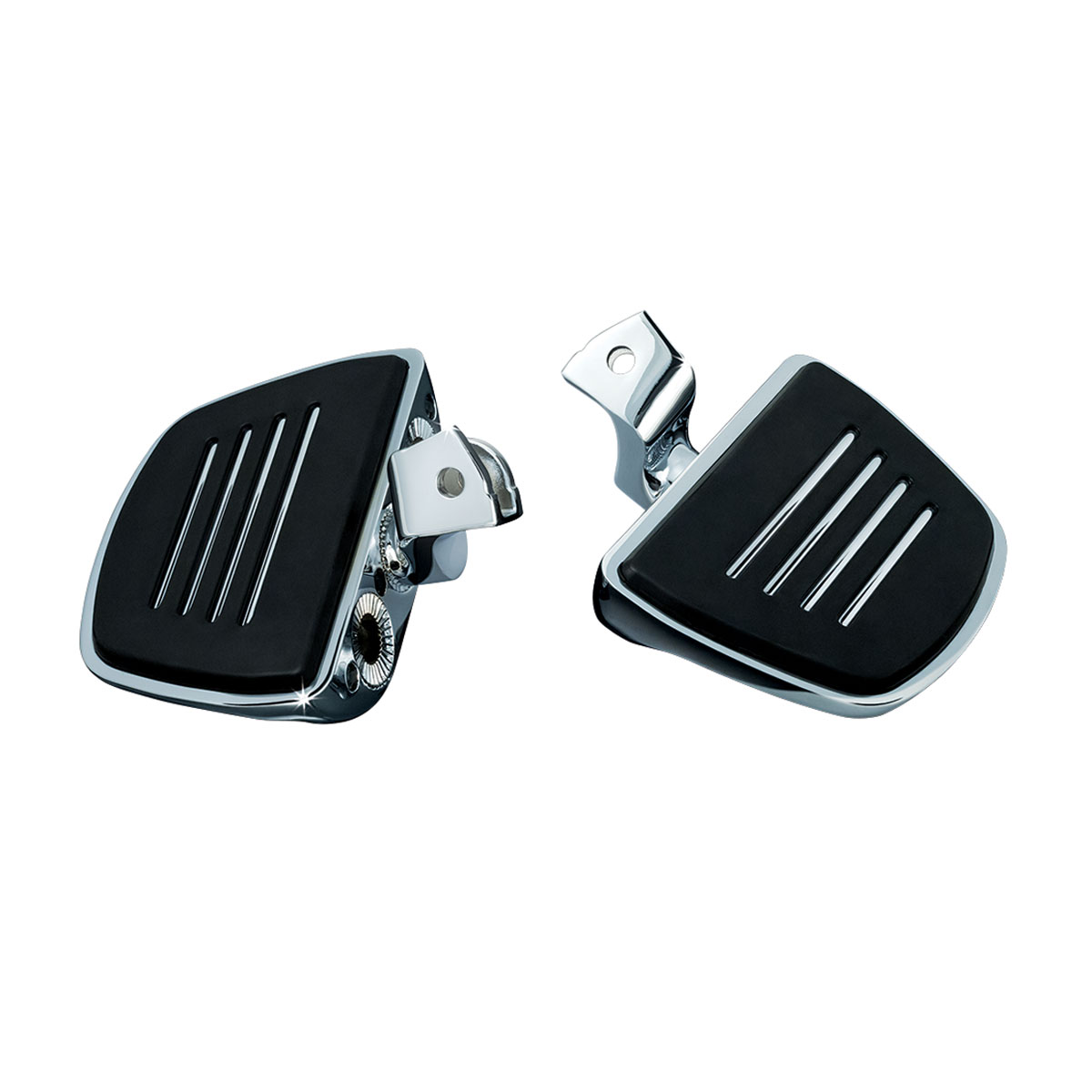 Kuryakyn Premium Mini Boards with Comfort Drop Mounts for GL1800 and F6B Gold Wing