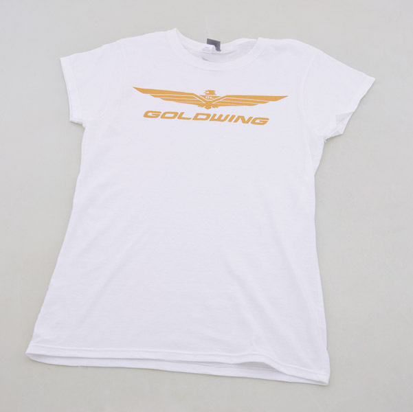 Honda Women's Gold Wing White T-shirt