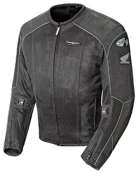 Honda Gold Wing Men′s Skyline 2.0 Black/Black Jacket