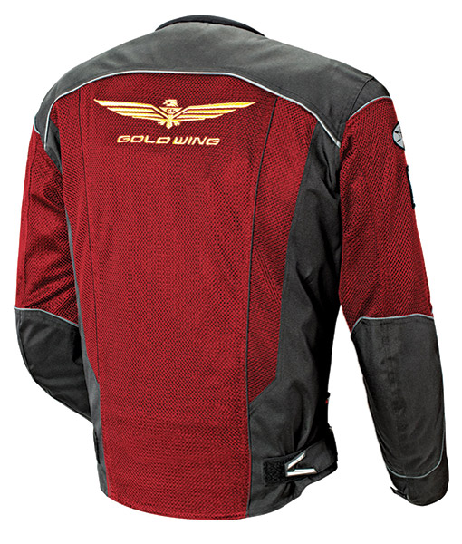 Gold Wing Men′s Skyline 2.0 Wine/Black Jacket