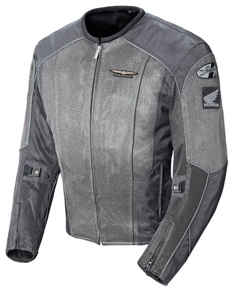 Honda Gold Wing Men′s Skyline 2.0 Silver/Gray Jacket