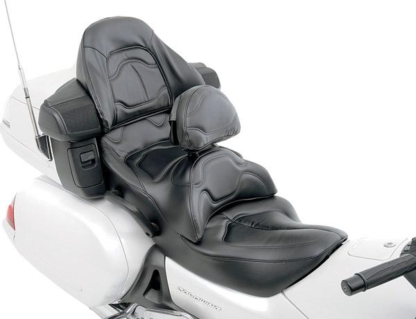 Saddlemen Heated Road Sofa with Drivers Backrest