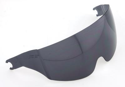 Face Shields, Solar Replacement Inner Shield Dark Smoke
