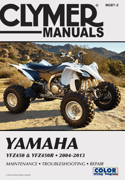 Clymer Yamaha 04-09 YFZ450 Manual