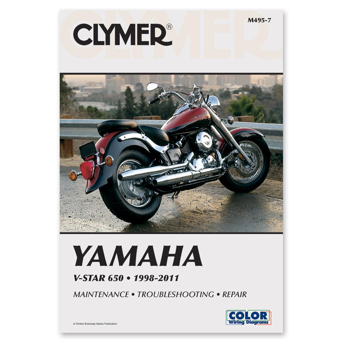 yamaha clymer manuals