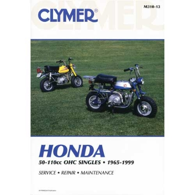 Clymer Honda 4-Stroke Singles Motorcycle Repair Manual