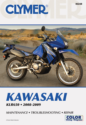 Clymer Kawasaki KLR650 Motorcycle Repair Manual