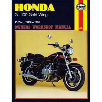 haynes honda shop manual for 79 81 gl1100 gold wing zz16791 j p rh jpcycles com 1983 Honda Goldwing Interstate Parts 1983 honda goldwing aspencade service manual