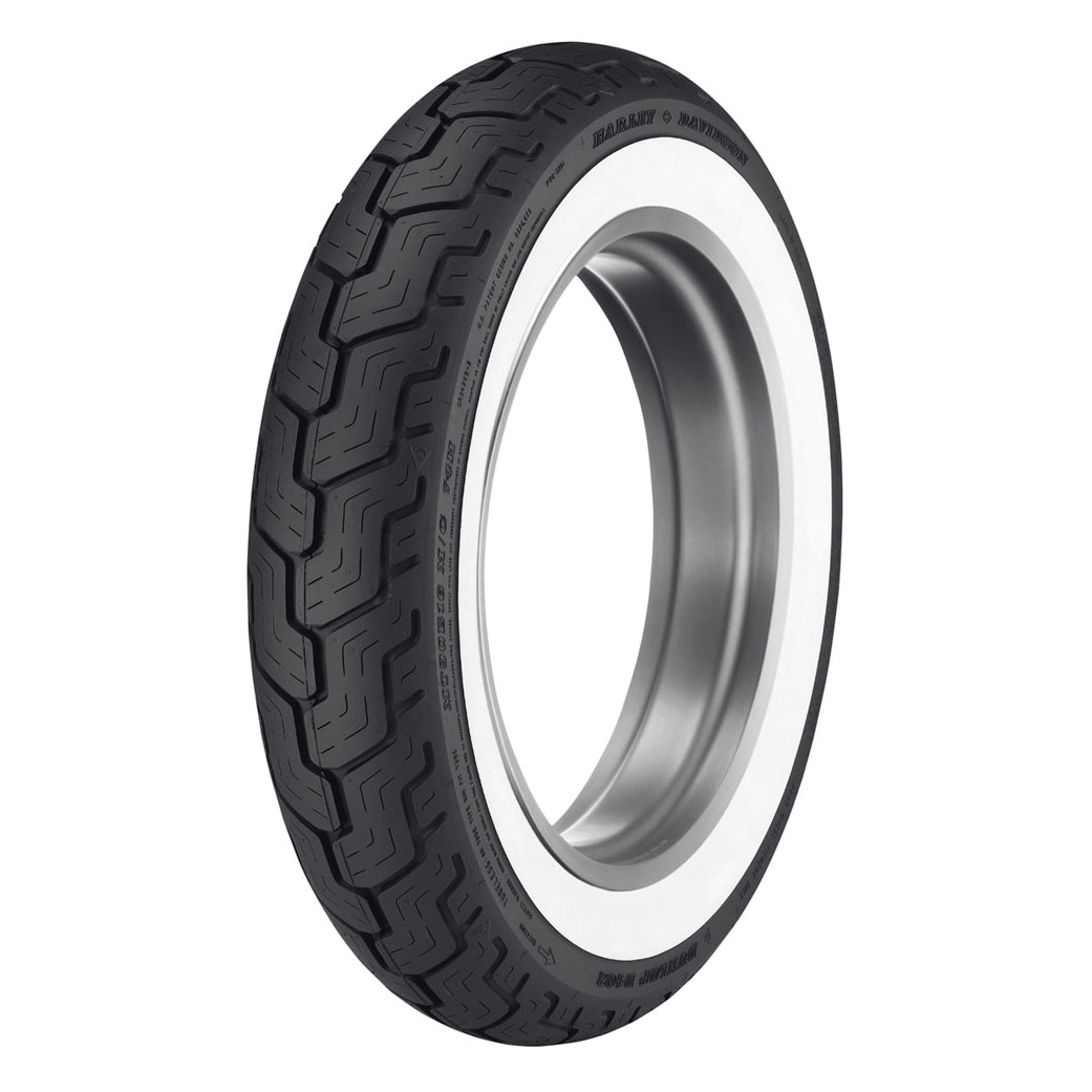 Dunlop D402 Touring MU85B16 Wide Whitewall Rear Tire