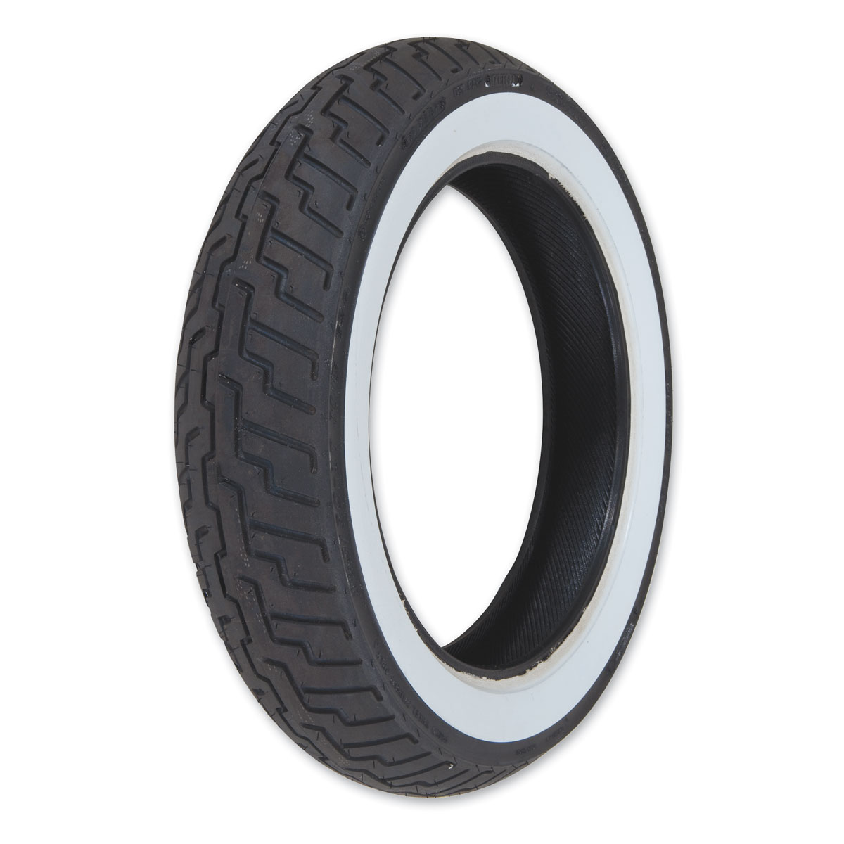 Dunlop D404 150/80-16 Wide Whitewall Front Tire