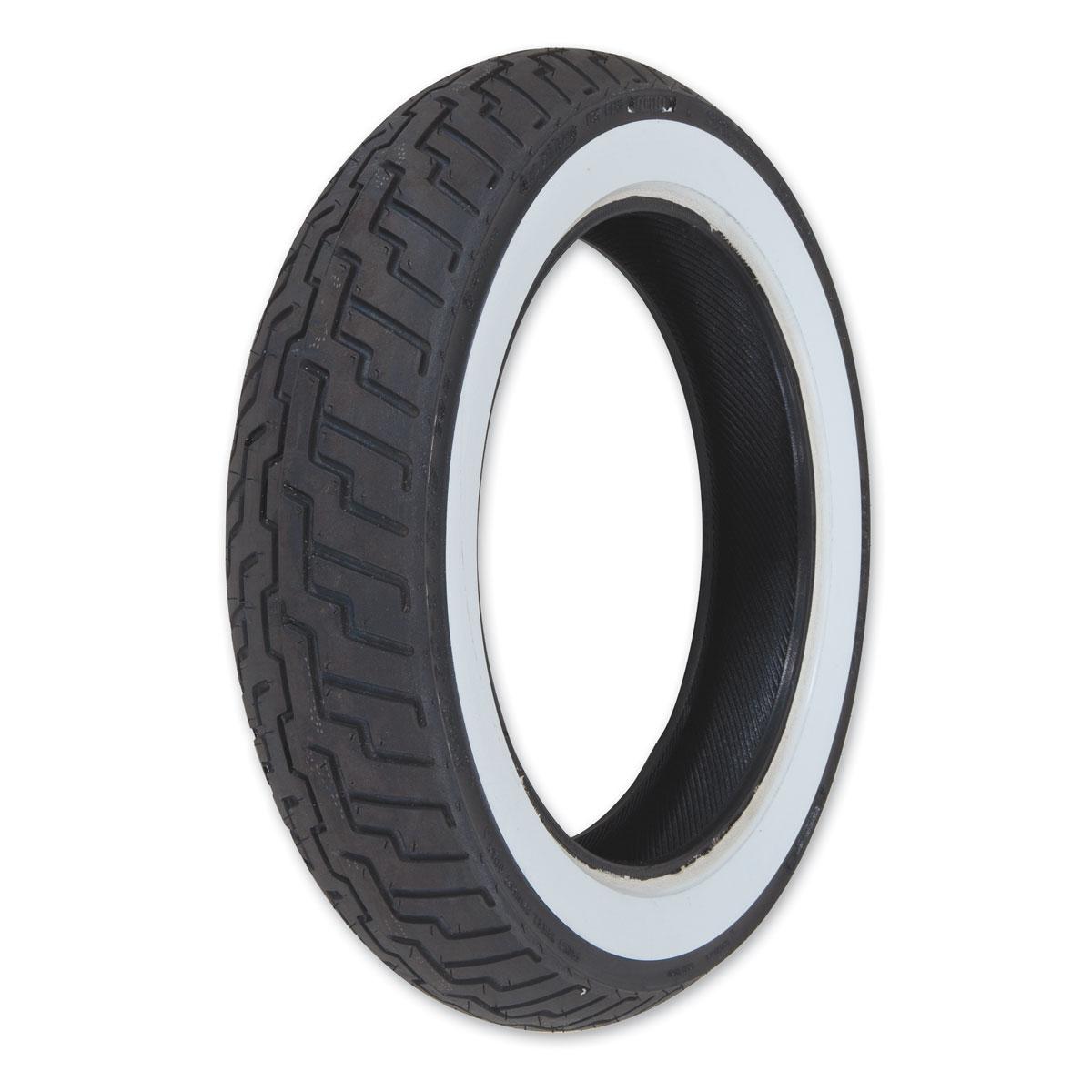 Dunlop D404 150/90-15 Wide Whitewall Rear Tire