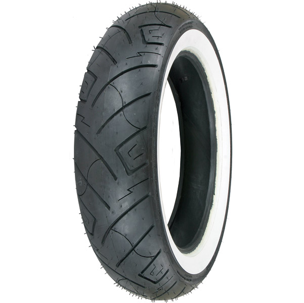 Shinko 777 130/90-16 Wide Whitewall Front Tire