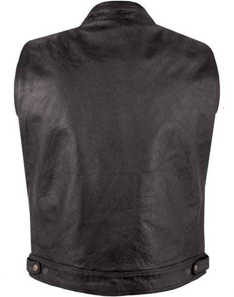Men's Leather Vest
