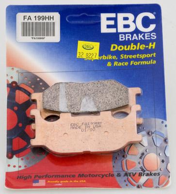 EBC Sintered Double H Brake Pads Yamaha XV250 V-Star XV250 Virago