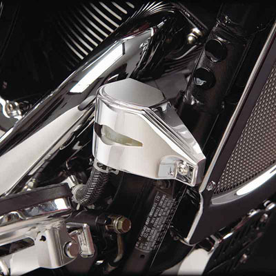 Show Chrome Accessories Celestar Rear Brake Reservoir Cover