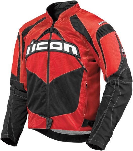 ICON Men's Red Contra Jacket
