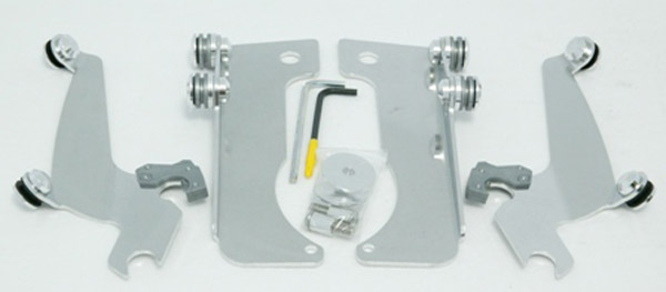 Memphis Shades Sportshield Polished Trigger-Lock Mount Kit