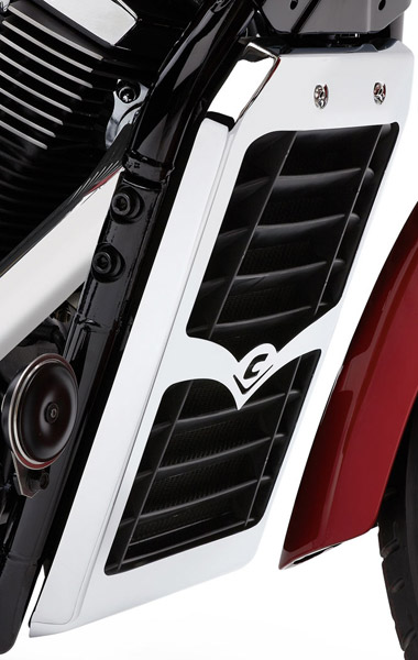 Cobra Radiator Cover